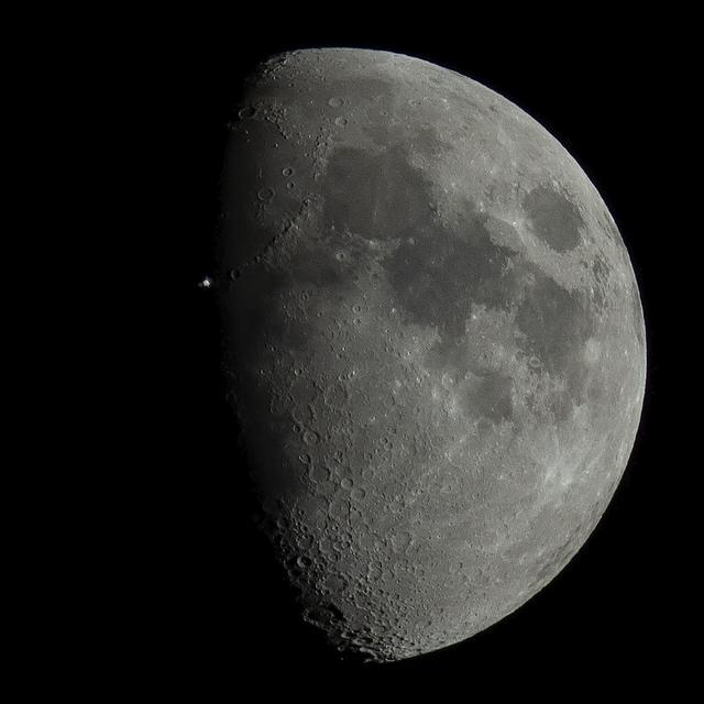 Transit lunaire d'ISS