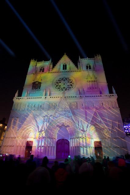 Fête des Lumières : Cathédrale St-Jean