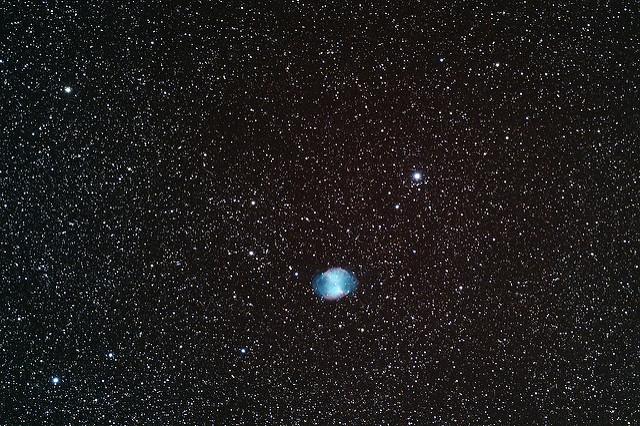 Nébuleuse de l'Haltère (Dumbbell, M27)
