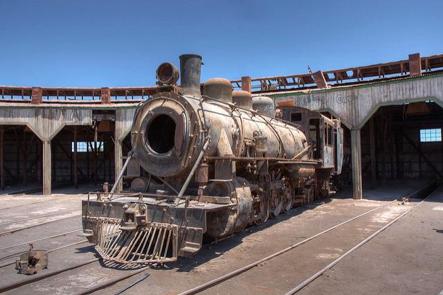 Locomotive à Baquedano