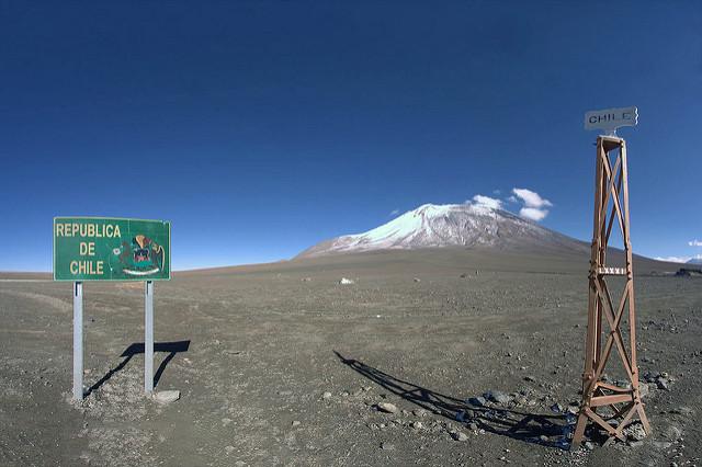 Frontière entre Chili et Bolivie