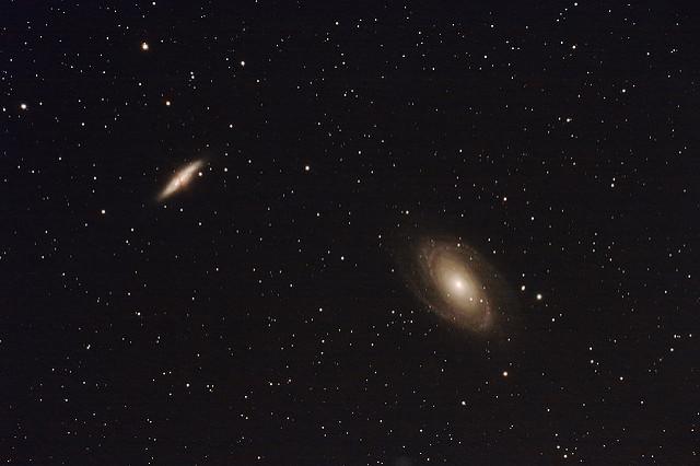 Galaxies dans la Grande Ourse (M81, M82)