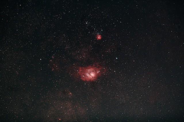 Nébuleuses du Sagittaire